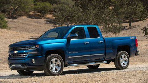 The 2018 Chevrolet Silverado lineup gets a huge selection of engines; the Z71 comes with a throaty 6.2-liter V8.