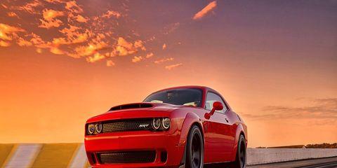 The Dodge Challenger SRT Demon