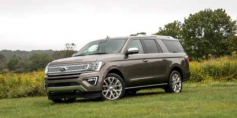 The Expedition is powered by a 3.5-liter V6 producing 375 hp and 470 lb-ft of torque, or 400 hp and 480 lb-ft of torque, depending on trim level.