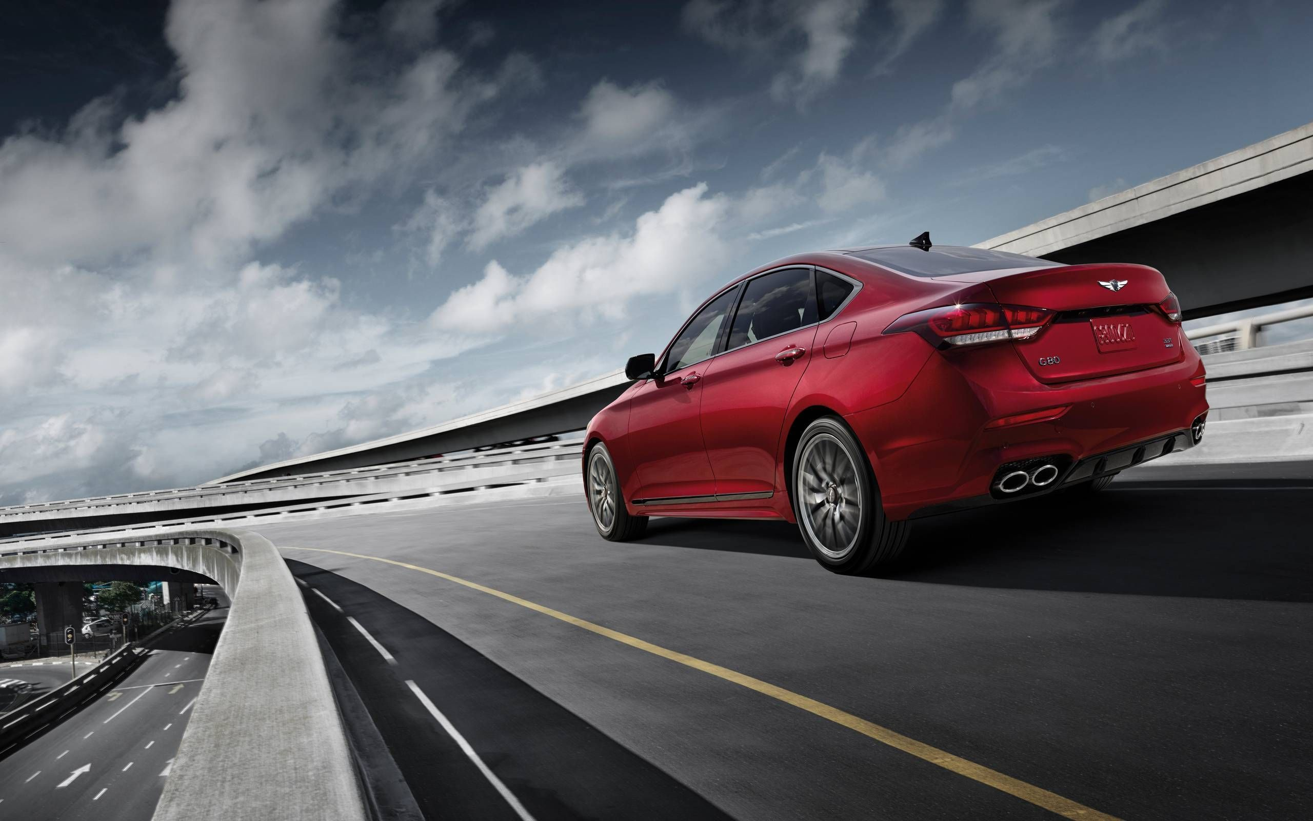 2018 Genesis G80 Sport First Drive A New Luxury Performance Player Emphasis On The Luxury