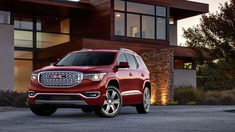 The 2019 GMC Acadia Denali comes with a 3.6-liter V6 making 310 hp.
