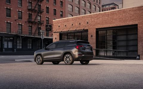 GMC unveiled the all-new 2018 Terrain ahead of the 2017 Detroit auto show. Smaller and lighter than the outgoing model, the new Terrain gets the choice of two turbocharged gasoline engines or a 1.6-liter turbodiesel.