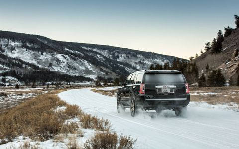 The 2018 GMC Yukon Denali and XL Denali can be had with a 10-speed automatic transmission -- but only if you opt for the big 6.2-liter V8.