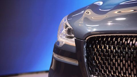 The 2018 New York auto show marked the return of the Aviator name to the brand's lineup, this time in concept form, though the vehicle itself could have been mistaken for a production model.