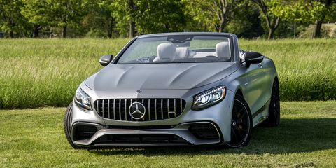 The S63 cabrio offers plenty of power and handling to match it, along with a high-tech interior.