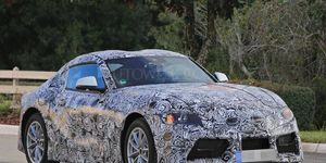 The Supra will share its underpinnings with the BMW Z5 when it debuts as a 2018 or 2019 model-year coupe.