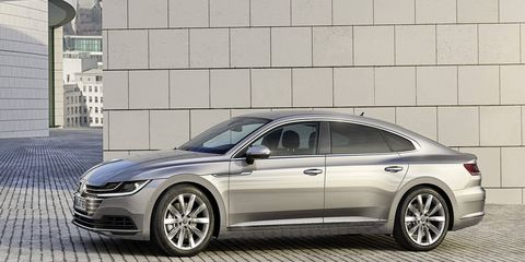 The Arteon fastback will take over for the CC as the top passenger car in VW's range.