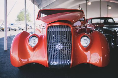 Land vehicle, Car, Motor vehicle, Classic, Vintage car, Vehicle, Antique car, Classic car, Automotive design, Hot rod,