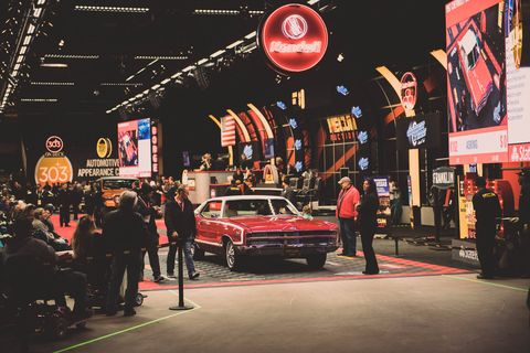 Mecum's Kissimmee, Florida, auction brought over 3,000 cars across the block.
