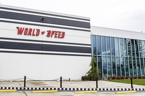 World of Speed is a beautifully executed, well worth visiting for its thoughtfully curated revolving exhibitions featuring everything from Indy cars to streamliners.