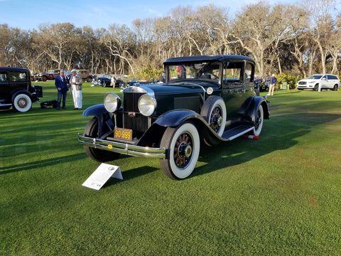 A rare 1929 Graham-Paige 827 Opera Coupe.