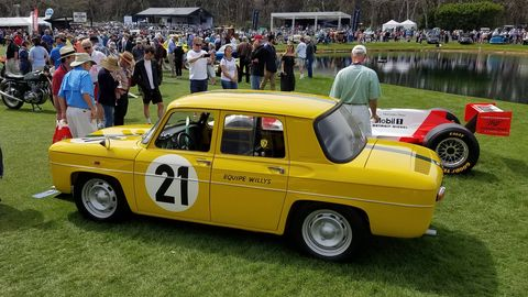 The 2018 Amelia Island Concours d'Elegance honored racing legend Emerson Fittipaldi, and a selection of his cars -- ranging from the 1965 Willys Team Renault R8 Gordini in which he won his first career victory to his F1 and Indycars.