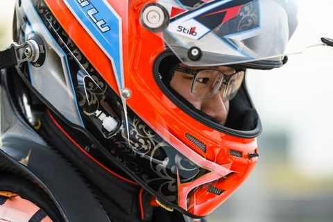 Wei Lu is trying his hand at a Ferrari 488 GT3 car -- and he's winning. He raced in the 2018 Pirelli World Challenge SprintX Championship series alongside his professional driver coach, and Le Mans veteran, Jeff Segal in the Pro-Am class.