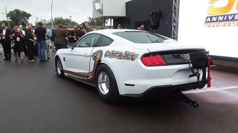 Production of the Ford Mustang Cobra Jet is limited to 68 units.