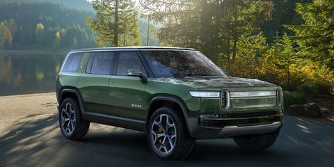 The Rivian R1S SUV goes on sale late in 2020.