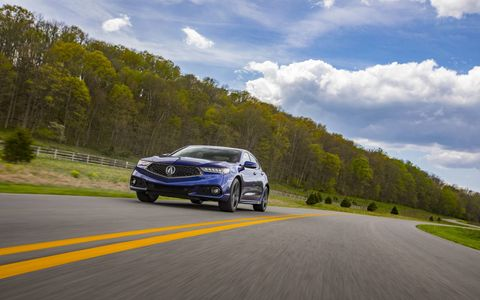 acura is betting on style to boost the tlx's presence in showrooms the reshaped front fascia borrows some styling cues from acura's halo car    the nsx