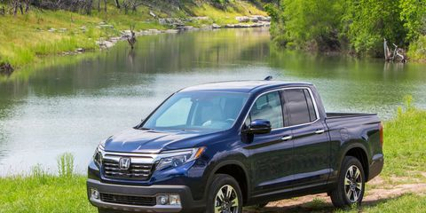 Truck sales helped keep everyone afloat this month.