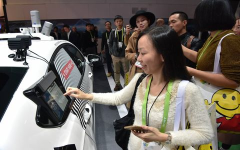 Ford showed a futuristic city at CES, one that is based around shared use of autonomous vehicles and better communication between all -- an automotive/biker/pedestrian paradise.