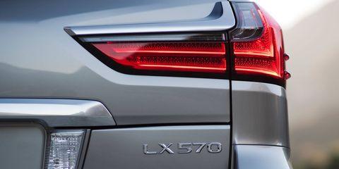 The 2018 Lexus LX570 standing tall