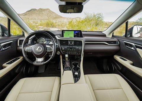 The 2018 Lexus RX350L gets 4.3 inches of extra length for that third row.