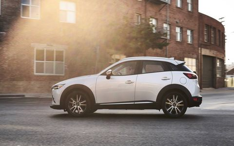 The CX-3 is part of Mazdas plan to boost U.S. sales.