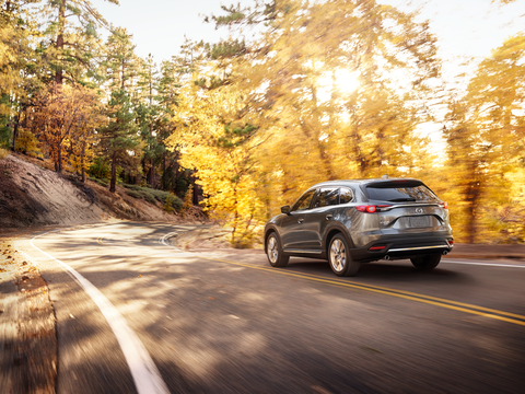 The 2018 Mazda CX-9 Signature has a 2.5-liter I4 making 227 hp and 310 lb-ft of torque.