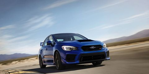 Both the WRX and WRX STI receive welcome improvements for the 2018 model year.