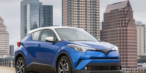 """Toyota calls the coupe-UV a """"crossover,"""" but it's a crossover in marketing speak only."""
