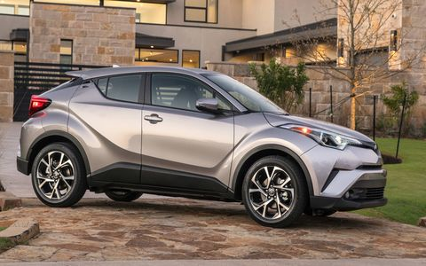 "Toyota calls the coupe-UV a ""crossover,"" but it's a crossover in marketing speak only."