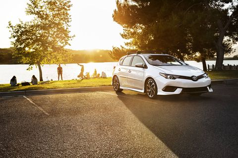 The 2018 Toyota Corolla iM has a 1.8-liter I4 making 137 hp and 126 lb-ft.
