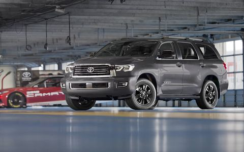 Both the 2018 Toyota Tundra TRD Sport and Sequoia TRD Sport come with the 5.7-liter V8 engine.