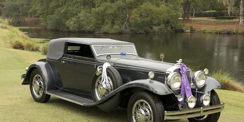 The Hilton Head Island Concours and all the events that take place before it make up one of the best-kept secrets in the collector car world. Here is the Concours' Best of Show, Joseph and Margie Cassini's 1931 Stutz DV32 Convertible Victoria.