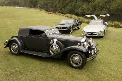 Best of Show, Joseph and Margie Cassini's 1931 Stutz DV32 Convertible Victoria