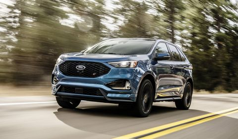 2019 Ford Edge And Edge St First Drive The Future Of Ford Performance