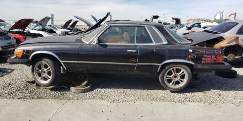 One of the most prestigious cars you could drive in 1976 California, now fallen back to earth in California.