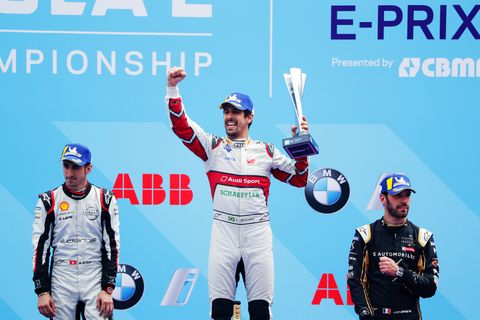 Sights from the Formula E Berlin E-Prix Saturday May 25, 2019