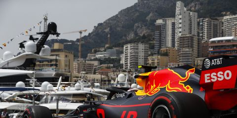 Sights from the F1 Monaco Grand Prix Saturday May 25, 2019.