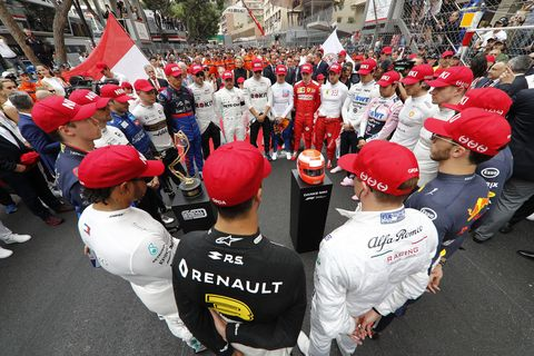 Sights from the F1 Monaco Grand Prix Sunday May 26, 2019.
