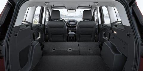 The 2019 Ford Escape Titanium comes with leather seats, voice-activated navigation and more.