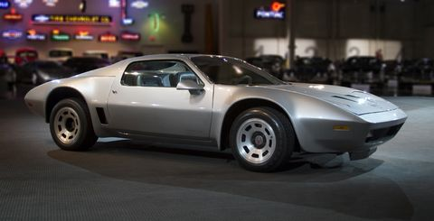 The one-of-a-kind 1972 Reynolds Aluminum Corvette resides in the collection of the GM Heritage Center.
