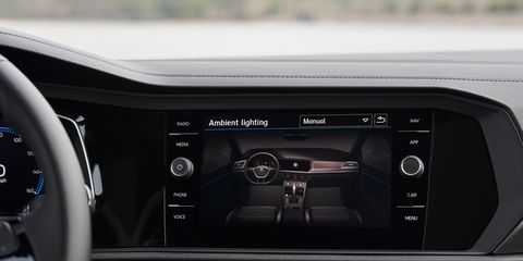 The 2019 Volkswagen Jetta got a refresh inside and out.
