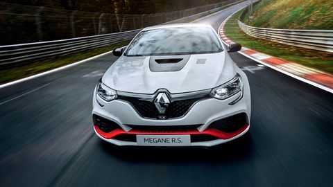 The Renault Megane R.S. Trophy-R is one of the fastest front-wheel drive cars on the planet.