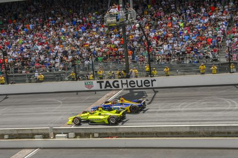 Sights from the action at the 2019 Indy 500 at Indianapolis Motor Speedway Sunday, May 26, 2019
