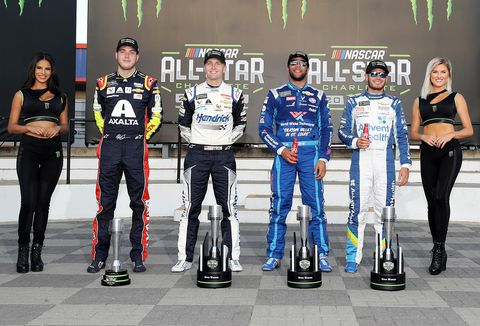 Sights from the action at the NASCAR All-Star Race at Charlotte Saturday May 18, 2019.