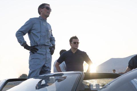 Christian Bale as Ken Miles