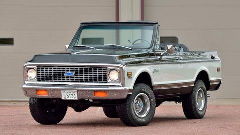 This super-clean, totally restored 1972 Chevrolet K5 Blazer made waves when it sold for $88,000 at Mecum's 2019 Kissimmee, Florida sale. The lofty price tag might not have been <em>so</em> surprising to classic car insiders, who have been watching vintage truck values soar in recent years.