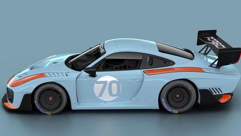 Porsche 935 in Gulf livery