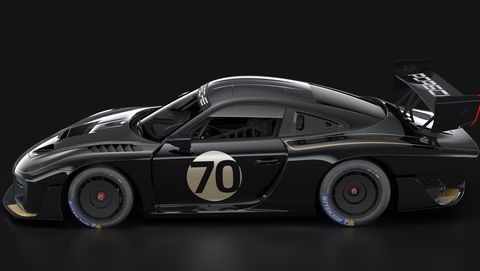 Porsche 935 in John Player Special livery