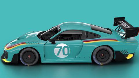 Porsche 935 in Vaillant