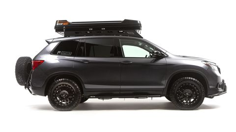 Honda and Jsport have created an off-road optimized Passport model.